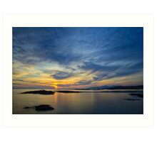 Sanna Bay Sunset Art Print