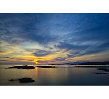 Sanna Bay Sunset Photographic Print