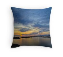 Sanna Bay Sunset Throw Pillow