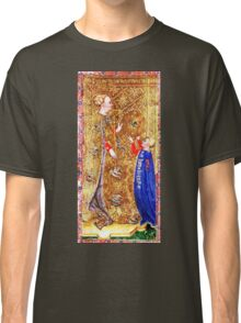 Medieval Queen painting Classic T-Shirt