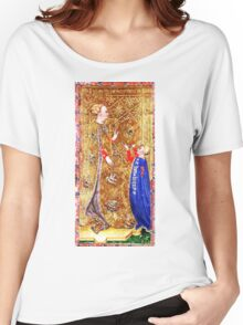 Medieval Queen painting Women's Relaxed Fit T-Shirt