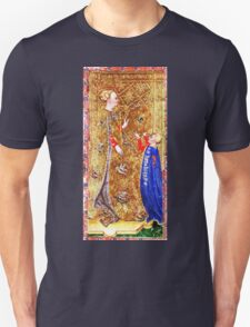Medieval Queen painting Unisex T-Shirt