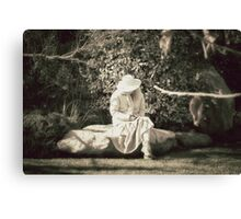 Lonely.... Canvas Print