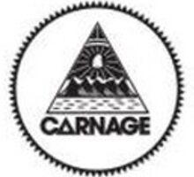 DJ Carnage Sticker Sticker