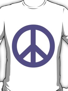 Peace - pale blue. T-Shirt