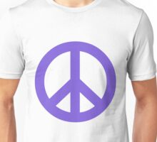 Peace - pale blue. Unisex T-Shirt