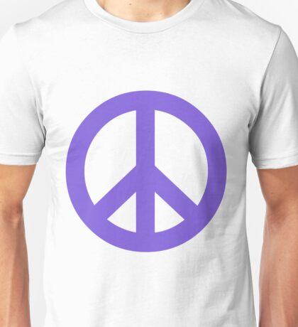 Peace - pale blue. Unisex T-Shirt