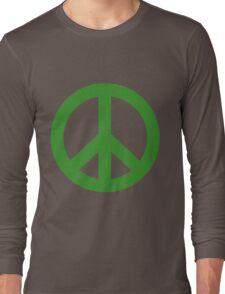 Peace - green. Long Sleeve T-Shirt