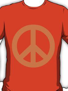 Peace - orange. T-Shirt