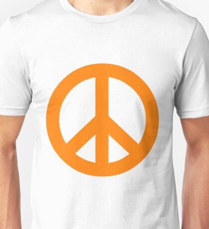 Peace - orange. Unisex T-Shirt