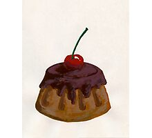 With a Cherry On Top Photographic Print