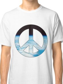 Peace - space. Classic T-Shirt