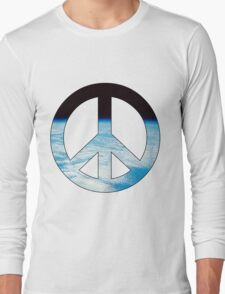 Peace - space. Long Sleeve T-Shirt
