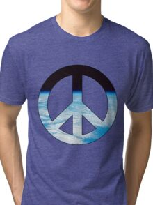 Peace - space. Tri-blend T-Shirt