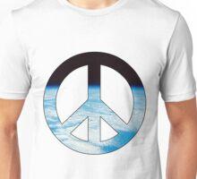 Peace - space. Unisex T-Shirt