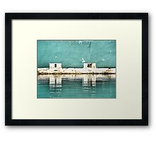 Newcastle Baths - Newcastle NSW Australia Framed Print