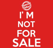 I'm not for sale by Antigoni