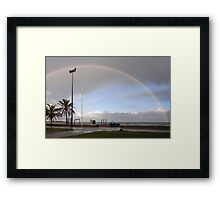 Uncommon here Framed Print