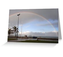 Uncommon here Greeting Card