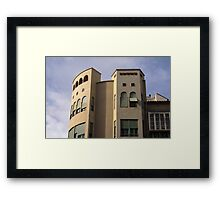 Sunblinds Framed Print