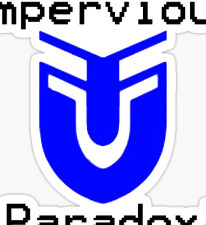 ImpervousParadox Logo! Sticker