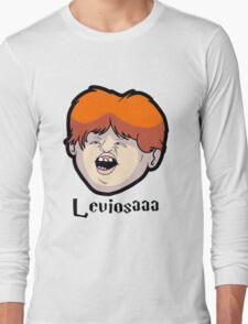 Wingardium Leviosa Ron Weasley Long Sleeve T-Shirt