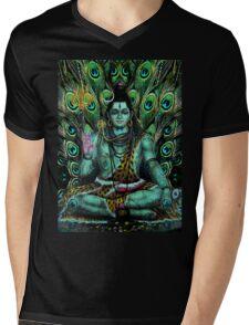Shiva Mens V-Neck T-Shirt