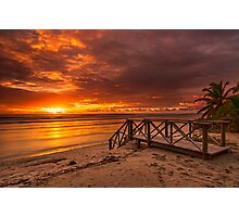 Stairway to the Sun Photographic Print