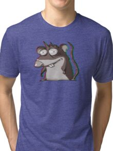 Aberration psychedelic Rar Tri-blend T-Shirt