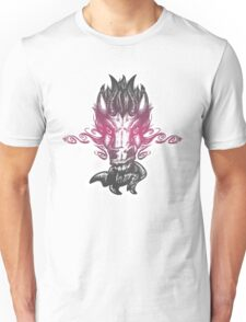 Demonic Equine - Pink Glow Unisex T-Shirt