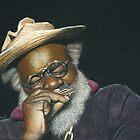 Grandpa Elliott in Miniature by Karen  Hull