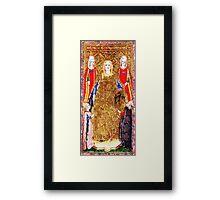 Medieval Emperor Framed Print
