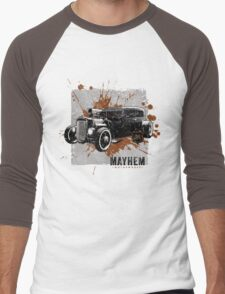 Hot Rod Men's Baseball ¾ T-Shirt