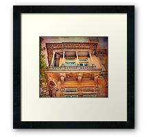 varanda Framed Print