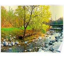 Fall landscape Poster