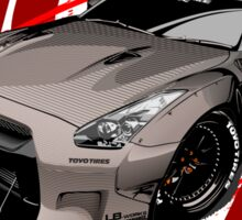 Liberty Walk GTR R35  Sticker