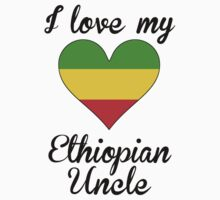 I Love My Ethiopian Uncle Kids Tee