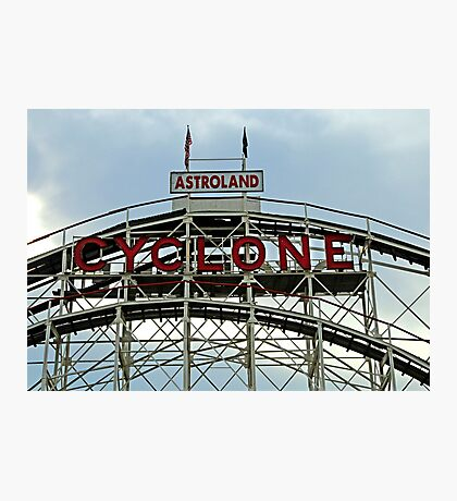The Cyclone Photographic Print