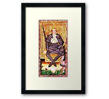 Medieval Knight Framed Print