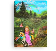 Fairy's Tell Wishes from original oil painting  Canvas Print