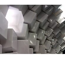 Untitled- Cubes Photographic Print