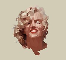 marilyn monroe by gazonula