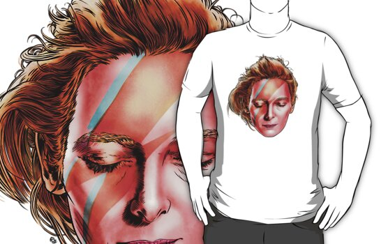 Tilda Swinton - Aladdin Sane by James Fosdike