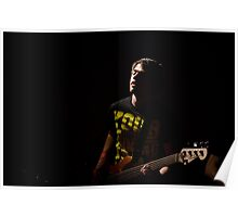 On stage with Red Light Sound Poster