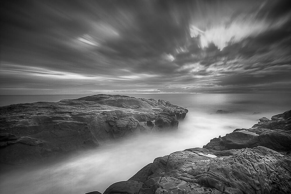 Saltwater Desaturated by Jason Allan