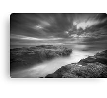 Saltwater Desaturated Canvas Print