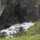BEAUTIFUL RIVER   IN COLORADO by Kim Vaughn Sowards