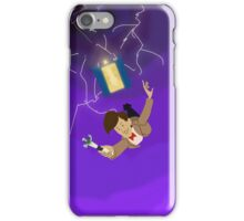 11th Doctor in the Vortex iPhone Case/Skin