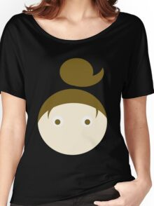 Brown Hair Brown Eyed Girl Women's Relaxed Fit T-Shirt