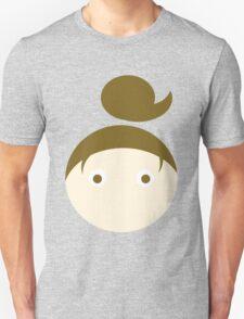 Brown Hair Brown Eyed Girl Unisex T-Shirt